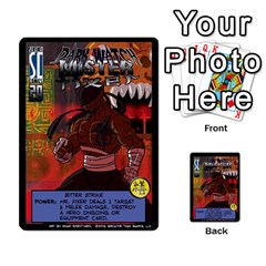 Sentinels 54 Card Promos By Sasha   Multi Purpose Cards (rectangle)   07y5jdkks28u   Www Artscow Com Front 24