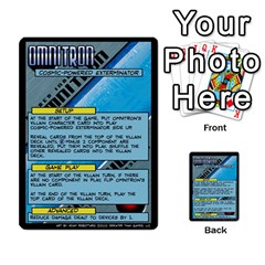 Sentinels 54 Card Promos By Sasha   Multi Purpose Cards (rectangle)   07y5jdkks28u   Www Artscow Com Front 26