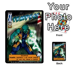 Sentinels 54 Card Promos By Sasha   Multi Purpose Cards (rectangle)   07y5jdkks28u   Www Artscow Com Front 4