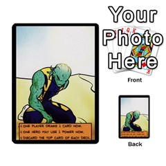 Sentinels 54 Card Promos By Sasha   Multi Purpose Cards (rectangle)   07y5jdkks28u   Www Artscow Com Back 31