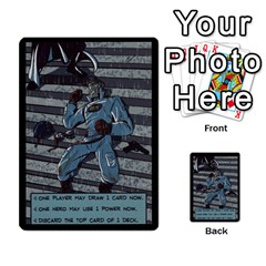 Sentinels 54 Card Promos By Sasha   Multi Purpose Cards (rectangle)   07y5jdkks28u   Www Artscow Com Back 42