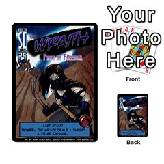 Sentinels 54 Card Promos By Sasha   Multi Purpose Cards (rectangle)   07y5jdkks28u   Www Artscow Com Front 47