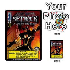 Sentinels 54 Card Promos By Sasha   Multi Purpose Cards (rectangle)   07y5jdkks28u   Www Artscow Com Front 49