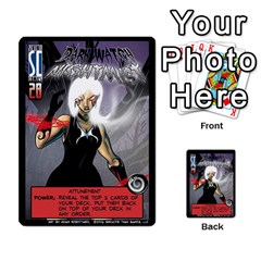 Sentinels 54 Card Promos By Sasha   Multi Purpose Cards (rectangle)   07y5jdkks28u   Www Artscow Com Front 50