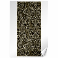Steam Punk Pattern Print Canvas 24  x 36  (Unframed) by dflcprints
