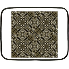 Steam Punk Pattern Print Mini Fleece Blanket (two Sided) by dflcprints