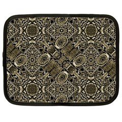 Steam Punk Pattern Print Netbook Sleeve (xxl) by dflcprints