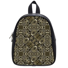 Steam Punk Pattern Print School Bag (small) by dflcprints