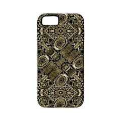 Steam Punk Pattern Print Apple Iphone 5 Classic Hardshell Case (pc+silicone) by dflcprints