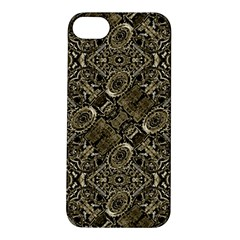 Steam Punk Pattern Print Apple Iphone 5s Hardshell Case by dflcprints