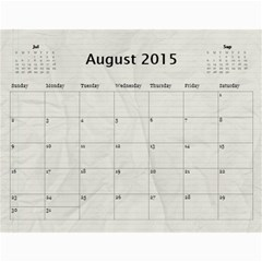 Se By Yvonne Cavill   Wall Calendar 11  X 8 5  (12 Months)   Jqiso9fxi1ck   Www Artscow Com Aug 2015