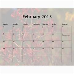 Se By Yvonne Cavill   Wall Calendar 11  X 8 5  (12 Months)   Jqiso9fxi1ck   Www Artscow Com Feb 2015