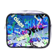 Pure Chaos Mini Travel Toiletry Bag (one Side) by StuffOrSomething