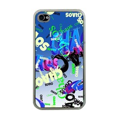 Pure Chaos Apple Iphone 4 Case (clear) by StuffOrSomething