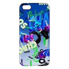 Pure Chaos Iphone 5s Premium Hardshell Case by StuffOrSomething