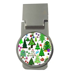Oh Christmas Tree Money Clip (round) by StuffOrSomething