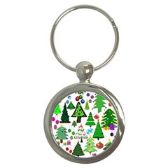 Oh Christmas Tree Key Chain (round) by StuffOrSomething