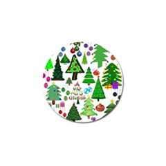 Oh Christmas Tree Golf Ball Marker 10 Pack by StuffOrSomething