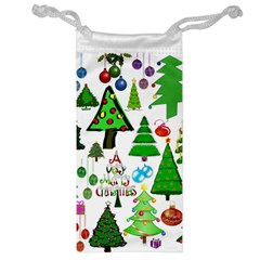 Oh Christmas Tree Jewelry Bag by StuffOrSomething