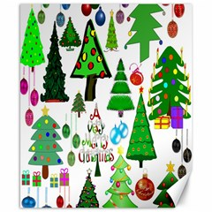 Oh Christmas Tree Canvas 8  X 10  (unframed) by StuffOrSomething