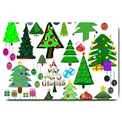 Oh Christmas Tree Large Door Mat by StuffOrSomething