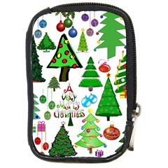 Oh Christmas Tree Compact Camera Leather Case by StuffOrSomething