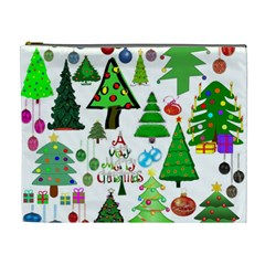Oh Christmas Tree Cosmetic Bag (xl) by StuffOrSomething