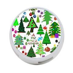 Oh Christmas Tree 4 Port Usb Hub (two Sides) by StuffOrSomething
