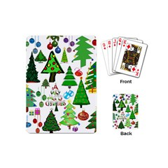 Oh Christmas Tree Playing Cards (mini) by StuffOrSomething