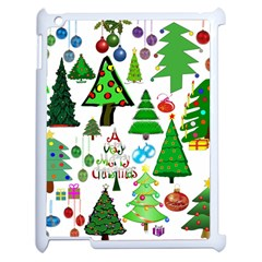 Oh Christmas Tree Apple Ipad 2 Case (white) by StuffOrSomething
