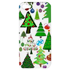 Oh Christmas Tree Apple Iphone 5 Hardshell Case by StuffOrSomething