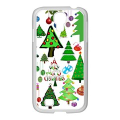 Oh Christmas Tree Samsung Galaxy S4 I9500/ I9505 Case (white) by StuffOrSomething