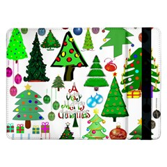 Oh Christmas Tree Samsung Galaxy Tab Pro 12 2  Flip Case by StuffOrSomething