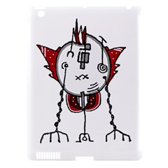 Alien Robot Hand Draw Illustration Apple Ipad 3/4 Hardshell Case (compatible With Smart Cover)