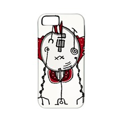 Alien Robot Hand Draw Illustration Apple Iphone 5 Classic Hardshell Case (pc+silicone) by dflcprints