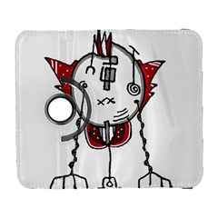 Alien Robot Hand Draw Illustration Samsung Galaxy S  Iii Flip 360 Case by dflcprints