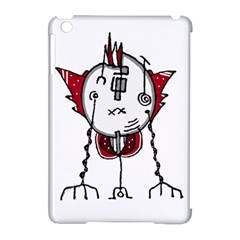 Alien Robot Hand Draw Illustration Apple Ipad Mini Hardshell Case (compatible With Smart Cover) by dflcprints
