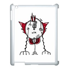 Alien Robot Hand Draw Illustration Apple Ipad 3/4 Case (white) by dflcprints
