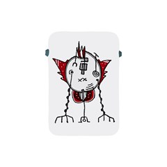 Alien Robot Hand Draw Illustration Apple Ipad Mini Protective Sleeve by dflcprints