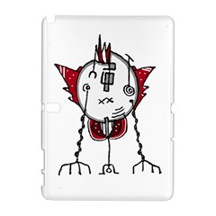 Alien Robot Hand Draw Illustration Samsung Galaxy Note 10 1 (p600) Hardshell Case by dflcprints