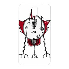 Alien Robot Hand Draw Illustration Samsung Galaxy Note 3 N9005 Hardshell Back Case by dflcprints
