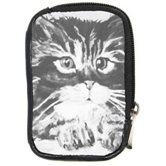 Kitten Compact Camera Leather Case by JUNEIPER07