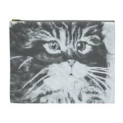 Kitten Cosmetic Bag (xl) by JUNEIPER07