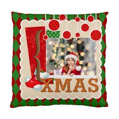 Xmas By Xmas4   Standard Cushion Case (two Sides)   Jt83jl6t32hz   Www Artscow Com Back