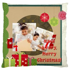 Xmas By Xmas4   Large Cushion Case (two Sides)   F59uycz96vgg   Www Artscow Com Front