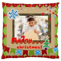 Xmas By Xmas4   Large Cushion Case (two Sides)   C5u6lwwexcym   Www Artscow Com Front