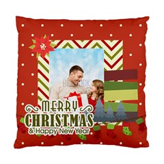 Xmas By Xmas4   Standard Cushion Case (two Sides)   4trf1r3xv0qq   Www Artscow Com Front