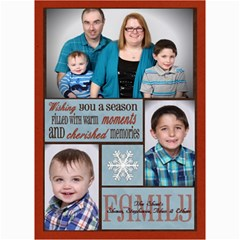 Shaw Xmas Card 2014 By Steph   5  X 7  Photo Cards   S3tlg33uuosc   Www Artscow Com 7 x5 Photo Card - 3