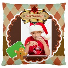 Xmas By Xmas4   Large Cushion Case (two Sides)   Qmdmpw3uk7dq   Www Artscow Com Front