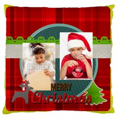 Xmas By Xmas4   Large Cushion Case (two Sides)   583fh69b9fpi   Www Artscow Com Back